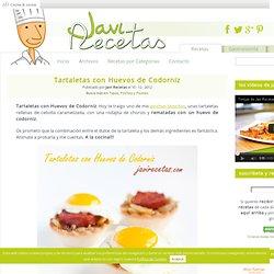 Tartaletas con Huevos de Codorniz