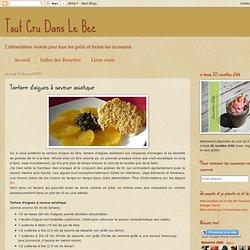 Tartare d'algues à saveur asiatique