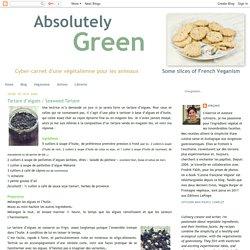 Tartare d'algues / Seaweed Tartare