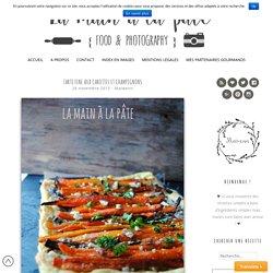 Tarte fine aux carottes et champignons - La main à la pâte