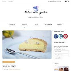 Tarte au citron - Délice Sans Gluten