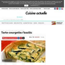 Tarte courgette/basilic, facile et pas cher