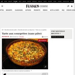 Tarte aux courgettes (sans pâte)