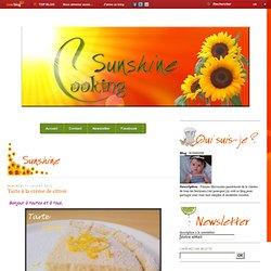 Tarte à la crème de citron - SUNSHINE