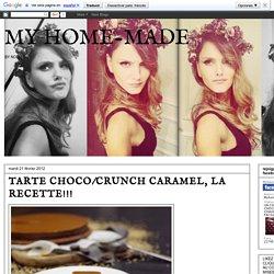 TARTE CHOCO/CRUNCH CARAMEL, LA RECETTE!!!