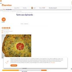 Tarte aux épinards : Recette de Tarte aux épinards