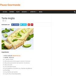 Tarte mojito