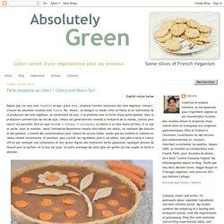 Tarte paysanne au céleri / Celery and Okara Tart