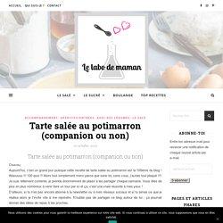 Tarte salée au potimarron (companion ou non)