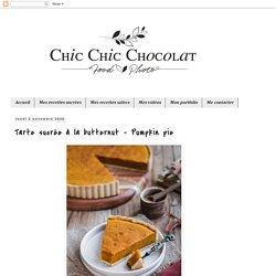 Tarte sucrée à la butternut - Pumpkin pie