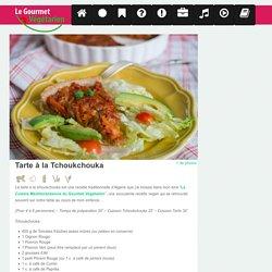Tarte à la Tchoukchouka Recette Vegan