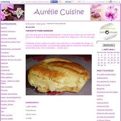 TARTELETTE POIRE AMANDINE - Aurélie Cuisine