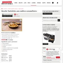 Recette de Tartelettes aux endives caramélisées