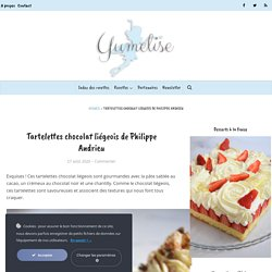 Tartelettes chocolat liégeois