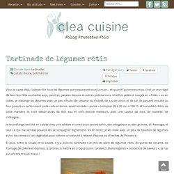 » Tartinade de légumes rôtis