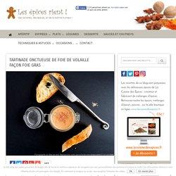Tartinade onctueuse de foie de volaille façon foie gras
