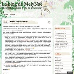 Tartinades diverses « Le blog de MelyNaë