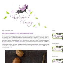 My Sweet Faery: Pâte à tartiner amande-lucuma - Lucuma almond spread