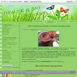 ° Pâte à tartiner qui déchiiiire !! (IG bas et très gourmande) - Beauté & Bio By Coco