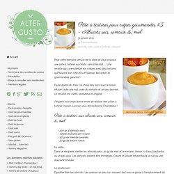 Abricots secs, romarin & miel