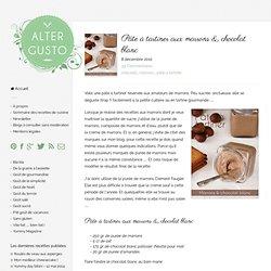 Marrons & chocolat blanc