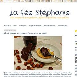 La Fée Stéphanie: Pâte à tartiner aux noisettes faite maison, un régal!