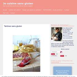 Tartines sans gluten