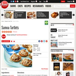 Samoa Tartlets Recipe : Food Network Kitchens