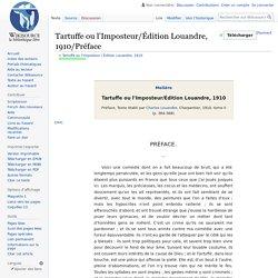 Tartuffe : préface de Molière