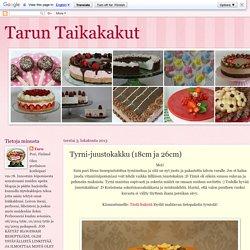 Tarun Taikakakut: Tyrni-juustokakku (18cm ja 26cm)