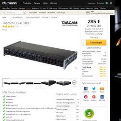 Tascam US-16x08 - Thomann Sverige