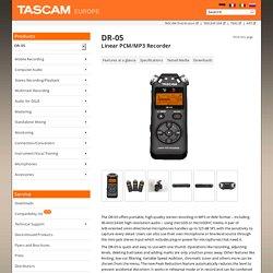 Linear PCM/MP3 Recorder