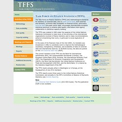 Task Force on Finance Statistics (TFFS)