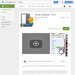 Smart Taskbar 1 (V1) - Aplicaciones Android en Google Play
