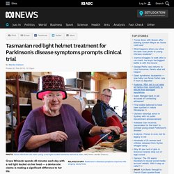 Tasmanian red light helmet treatment for Parkinson's disease symptoms prompts clinical trial