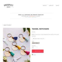 Tassel Keychain — Prospect Goods