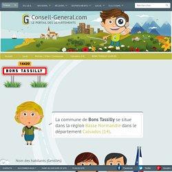 Mairie de BONS TASSILLY (14420) - Conseil-General.com