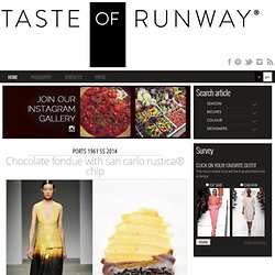 Fashion and Food