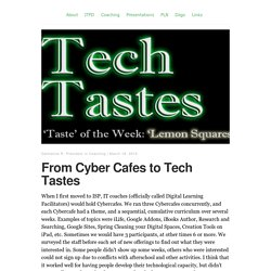 From Cyber Cafes to Tech Tastes – Journey with Technology