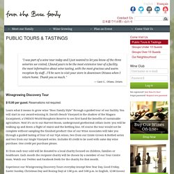 Public Tours & Tastings