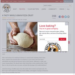 A Tasty Whole-Grain Pizza Crust Recipe