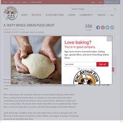 A Tasty Whole-Grain Pizza Crust Recipe