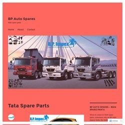 Tata Spare Parts – BP Auto Spares
