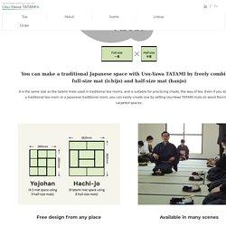 Kyoma size (Kyoto-size) Portable Tatami Mat