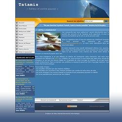Tatamis - Appel à manuscrit