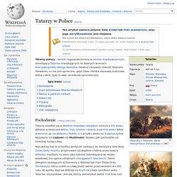 Tatarzy w Polsce – Wikipedia, wolna encyklopedia