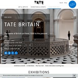 Tate Britain: British Art from 1500