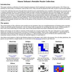 Simon Tatham's Portable Puzzle Collection