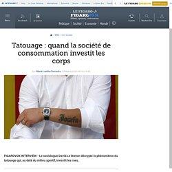 Tatouage: quand la société de consommation investit les corps