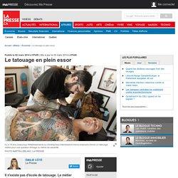 Le tatouage en plein essor